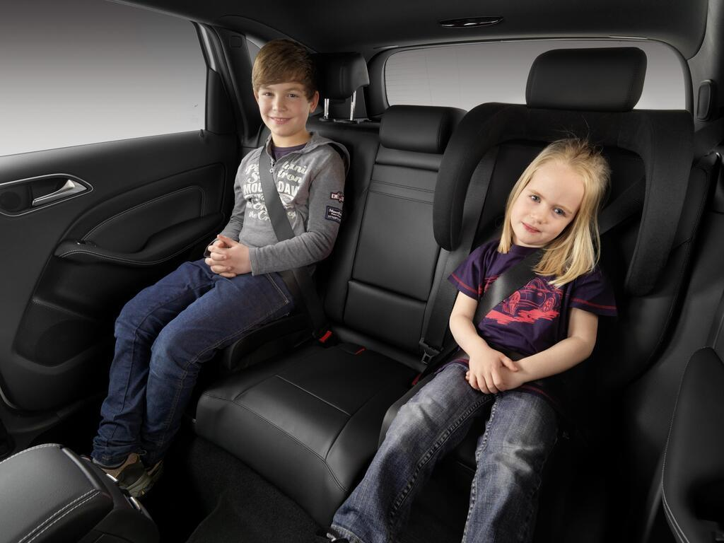 За неправильную перевозку детей предусмотрен штраф – от 510 до 850 грн