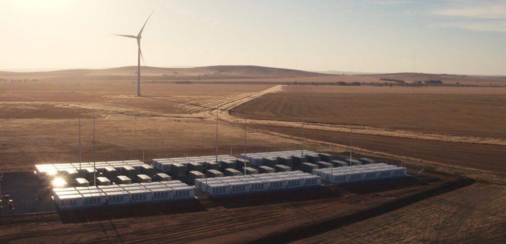 Хранилище энергии Hornsdale