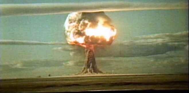 """Взрыв """"Царь-бомбы"""" 30 октября 1961 года"""