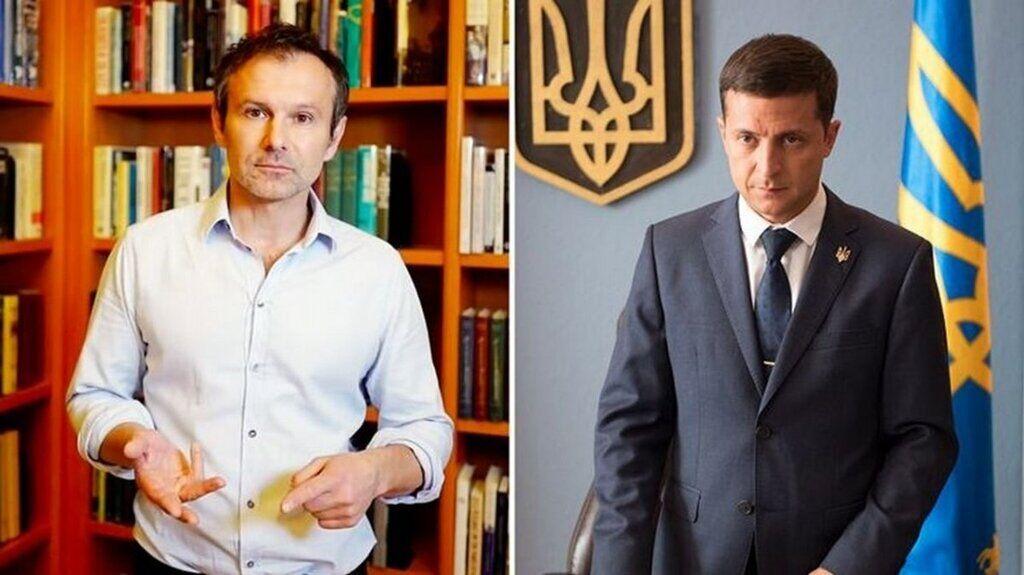 Святослав Вакарчук и Владимир Зеленский