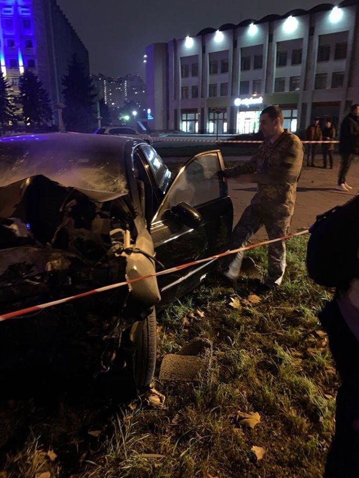 Пьяный военный устроил ДТП с пострадавшим