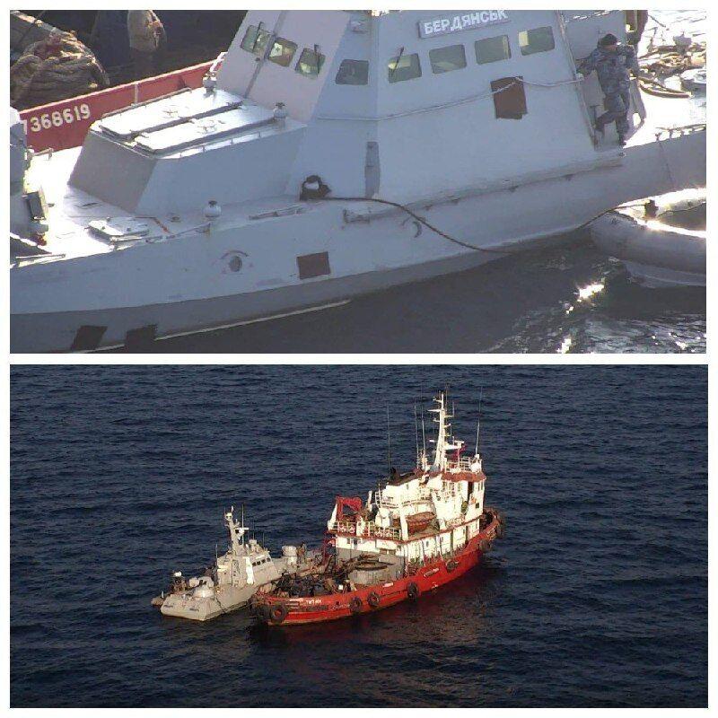 Корабли в Очакове