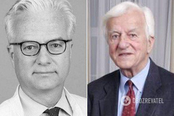 Фритц фон Вайцзеккер и Рихард фон Вайцзеккер