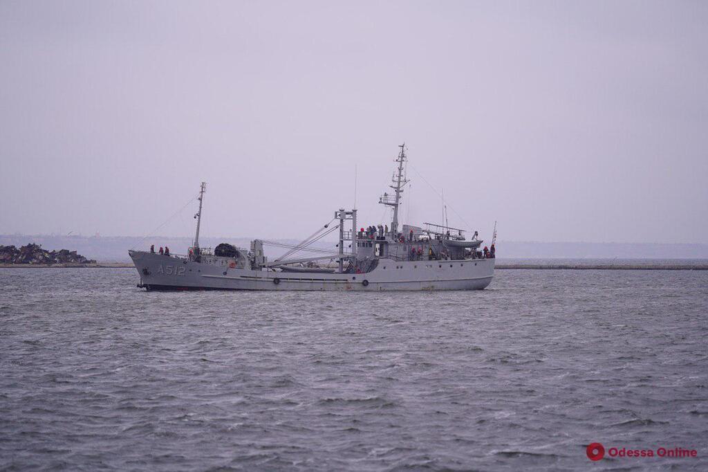 Украинские корабли в Очакове
