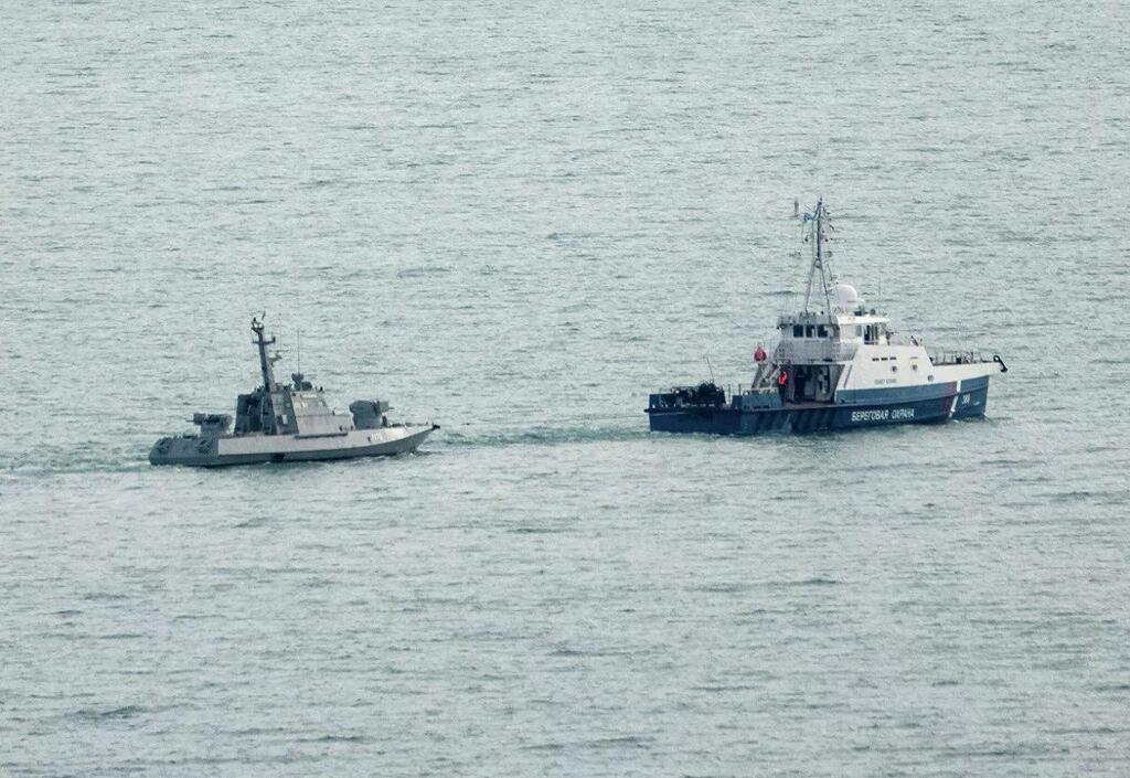 Корабли ВМС прибыли в Очаков