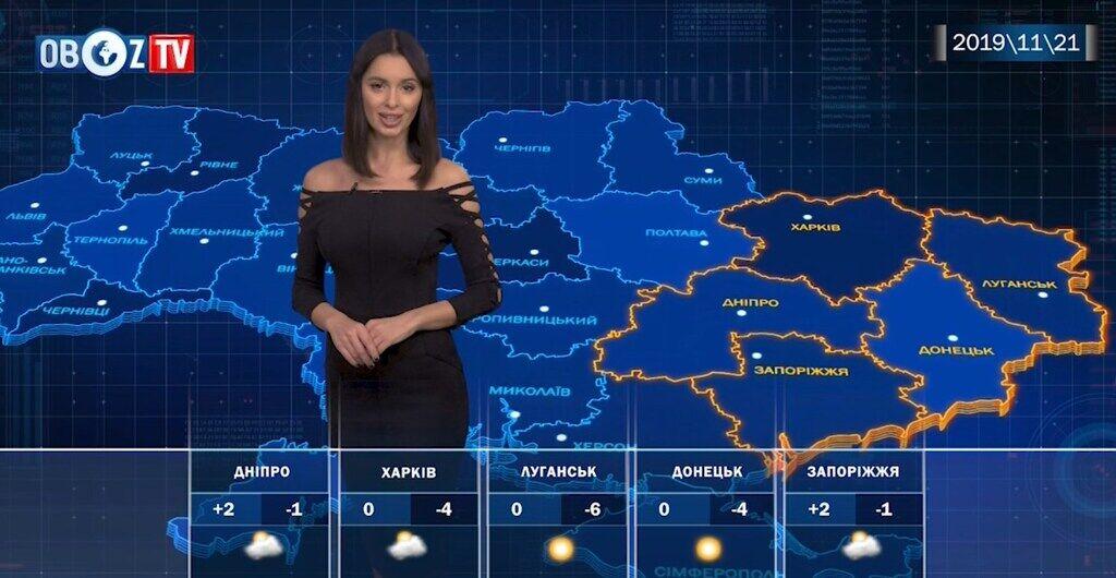 Вдарить вітер і мороз: прогноз на 21 листопада від ObozTV