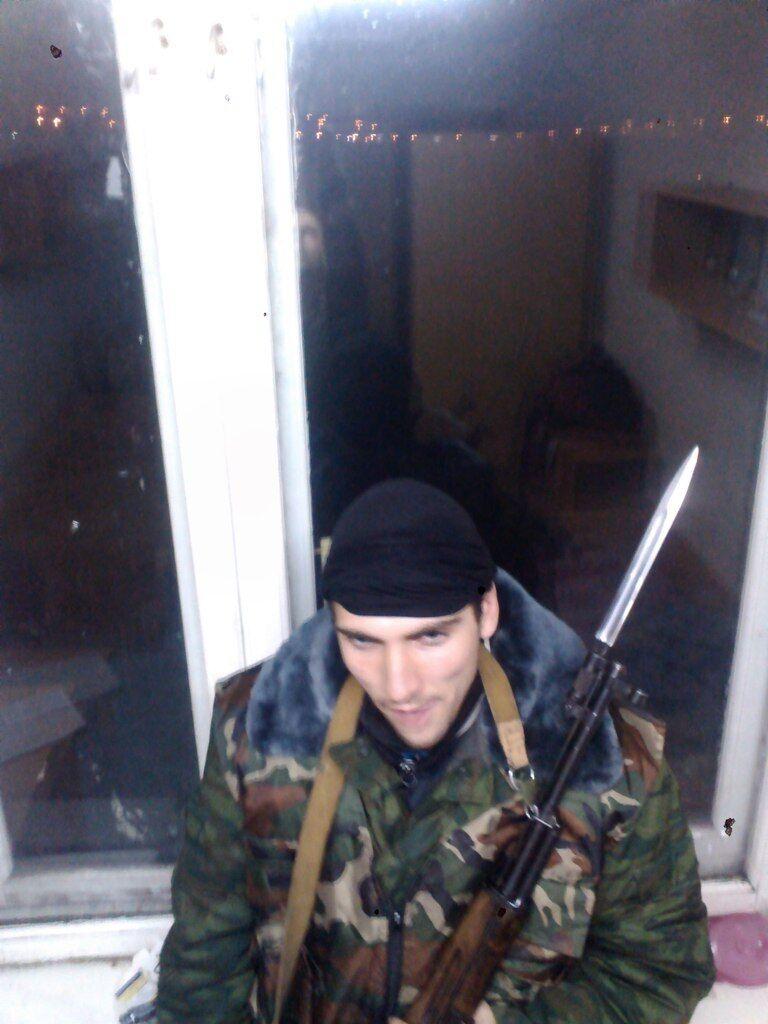 """Появились фото ликвидированного на Донбассе стрелка """"ДНР"""""""