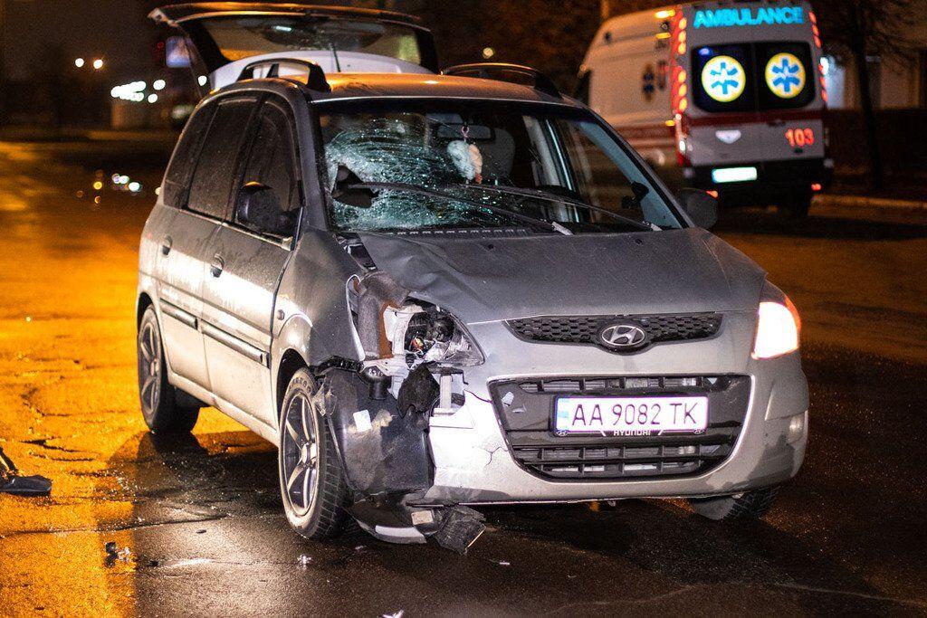 Автомобиль Hyundai Matrix сбил женщину