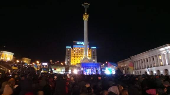 На вече пришли несколько тысяч человек