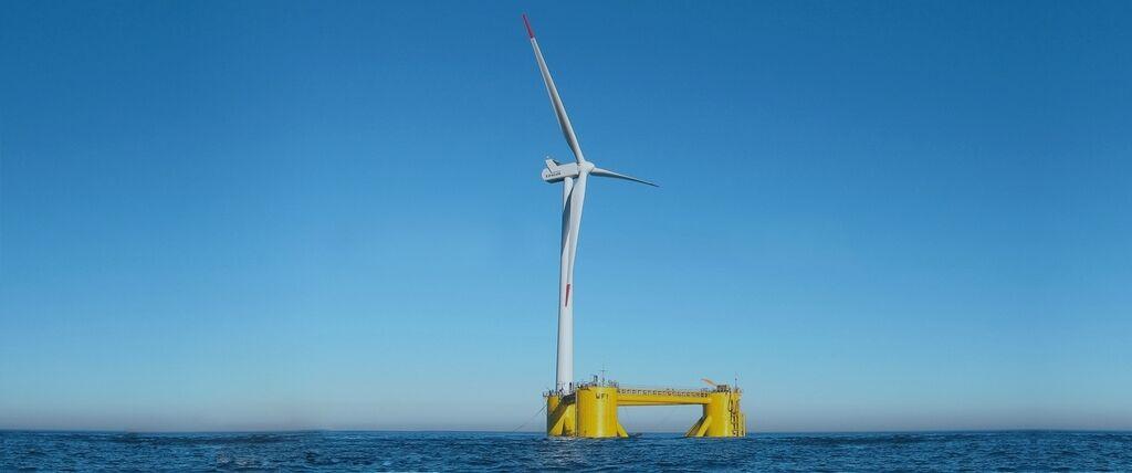 Плавуча вітроелектростанція від компанії ABS