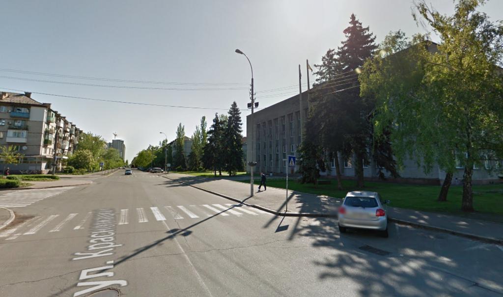 ДТП произошло напротив здания Днепровской РГА