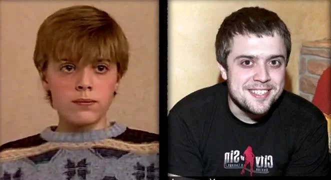 Олександр Ільїн в дитинстві і зараз