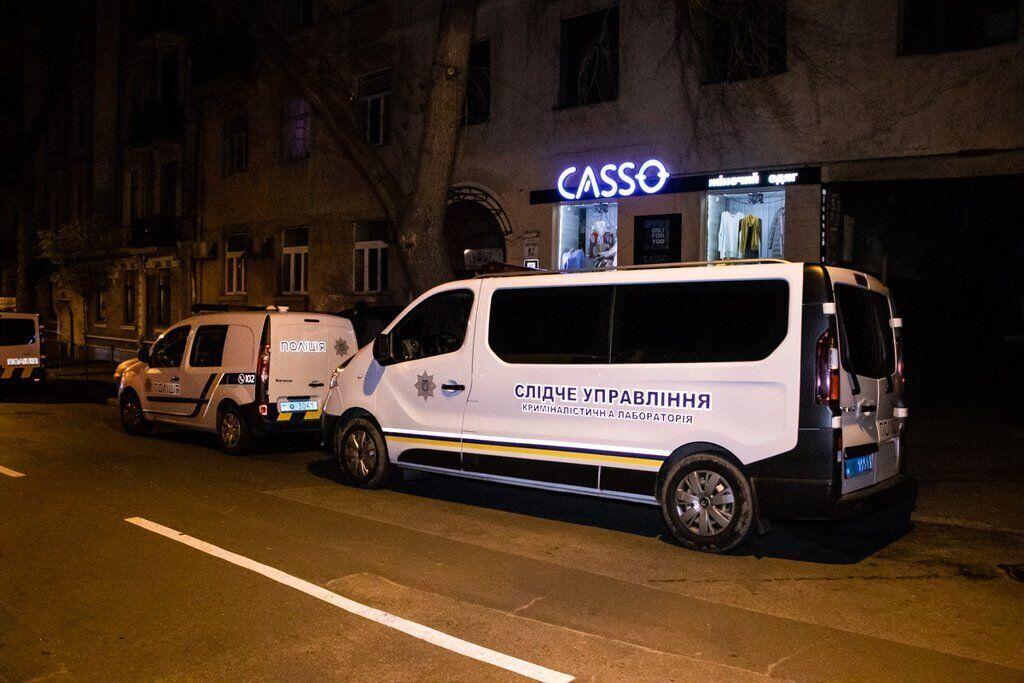 Взрыв в подъезде дома на улице Олеся Гончара