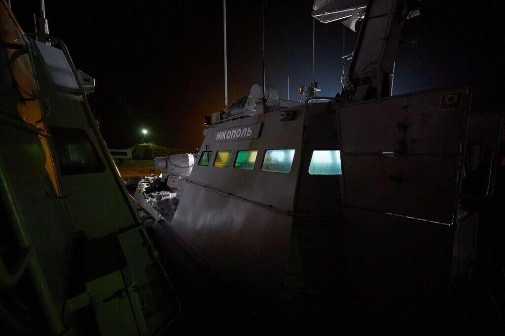 Возвращенные корабли в Очакове