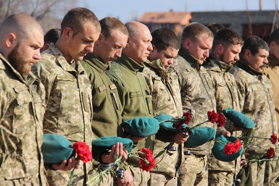 16 ноября в Широкино морпехи почтили память погибших побратимов
