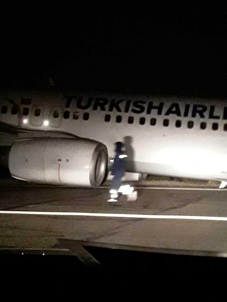 В аэропорту Одессы произошло ЧП с самолетом