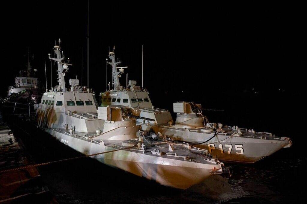 Повернуті кораблі в Очакові