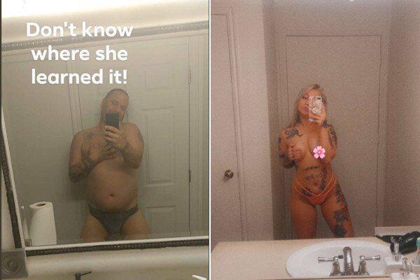 Батько потролив відверте фото доньки