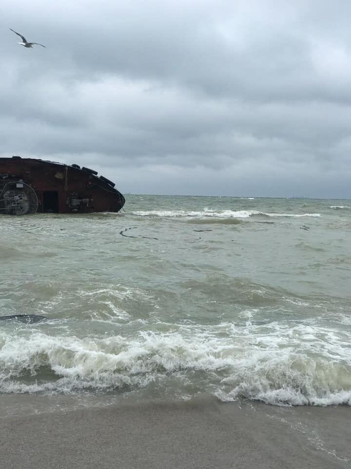 В Черном море забили тревогу после крушения танкера