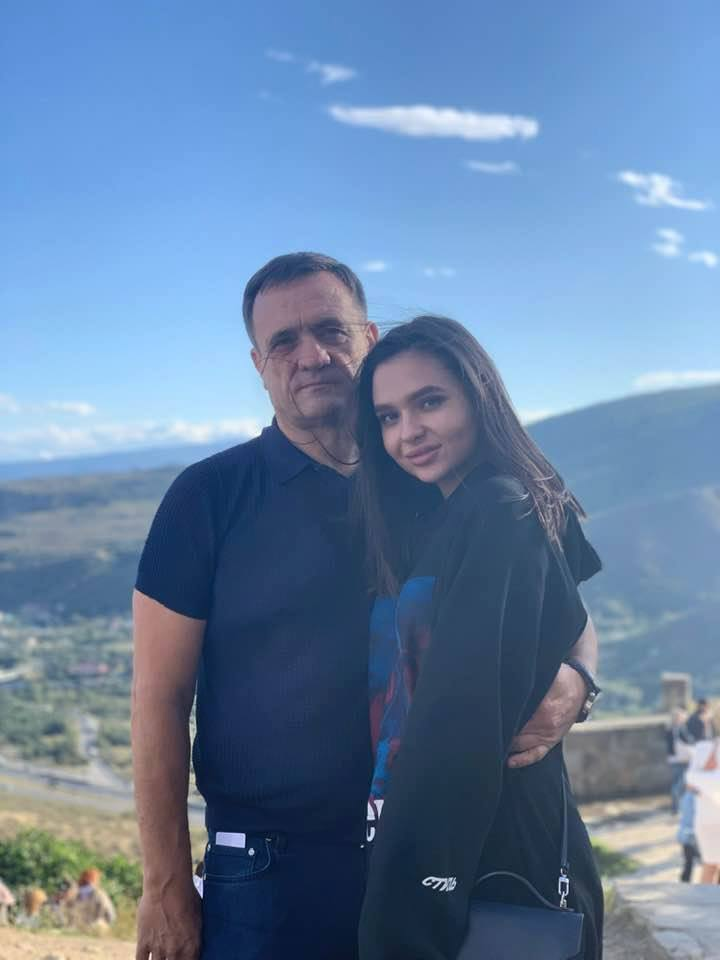 Сергей Евтягин с дочерью Владиславой