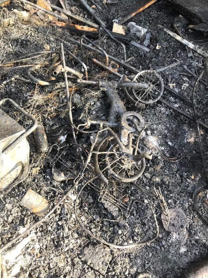 У известного ветерана АТО полностью сгорел дом