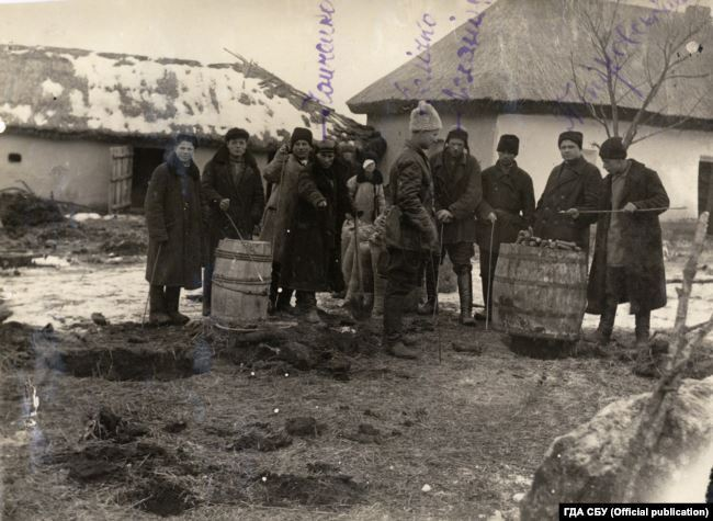 Буксирні бригади, які конфісковували у селян продовольство