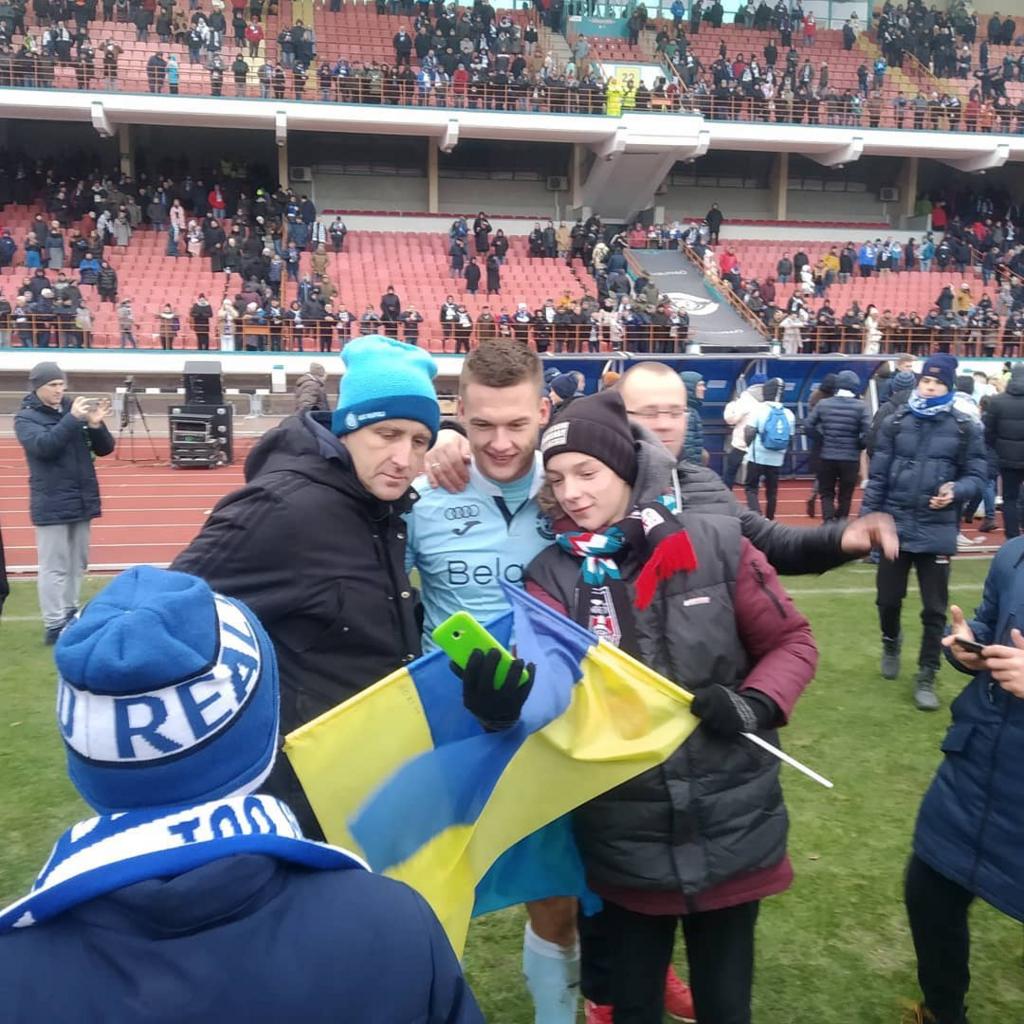 Українець забив гол і зробив історію в Білорусі