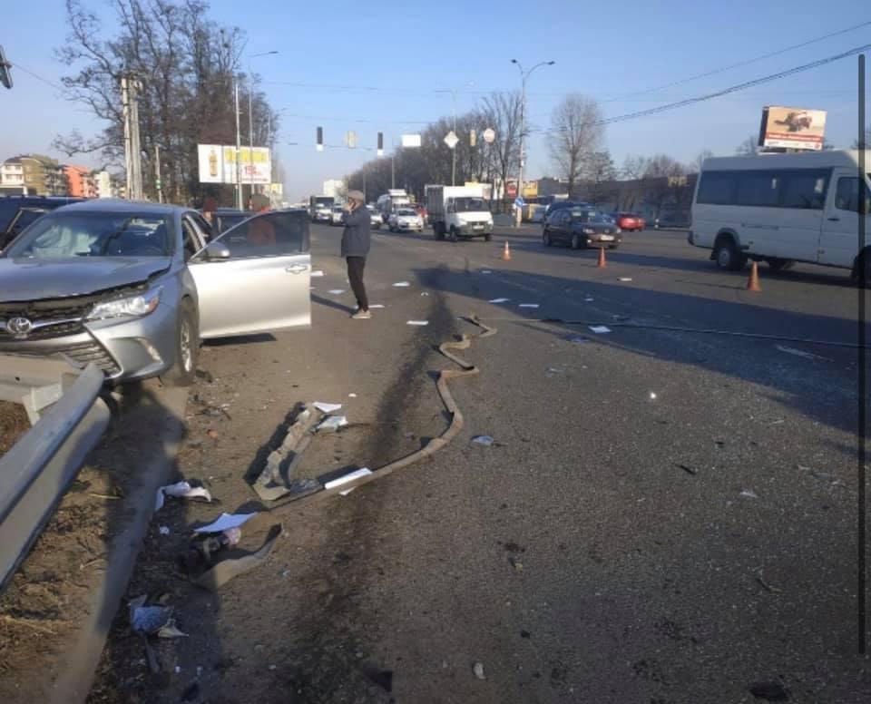За попередньою інформацією, аварія трапилася з вини Кулеби
