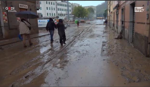 Негода у Генуї