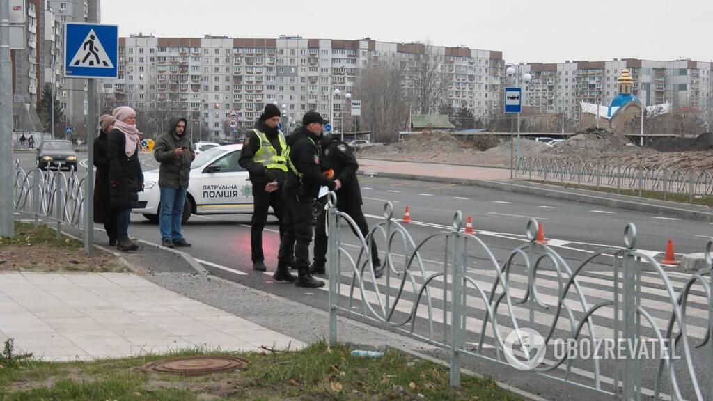 На пешеходном переходе: в Черкассах школьник попал под колеса авто. Фото