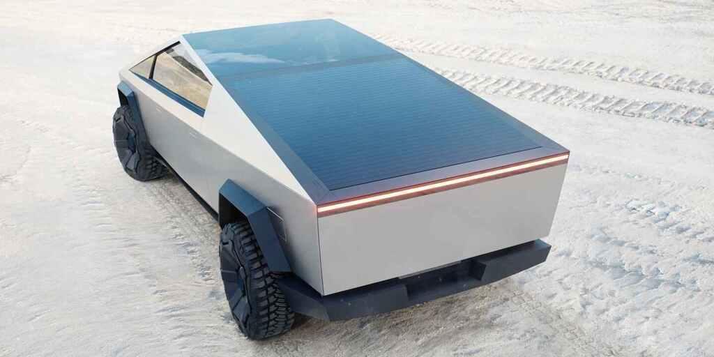 Імовірно, сонячні панелі будуть встановлені над вантажним відсіком