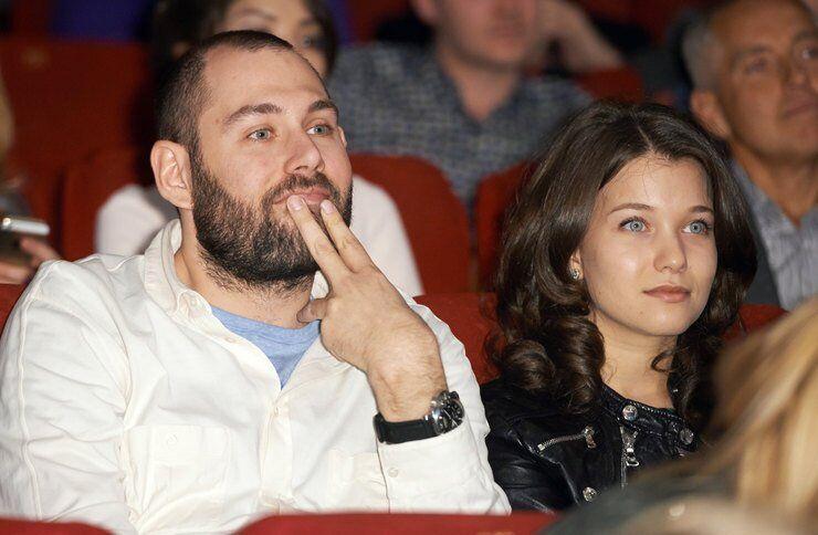 Семен Слєпаков з дружиною Кариною