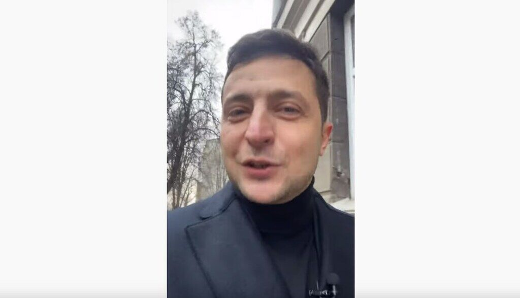 Зеленський записав нове відео на селфі-камеру