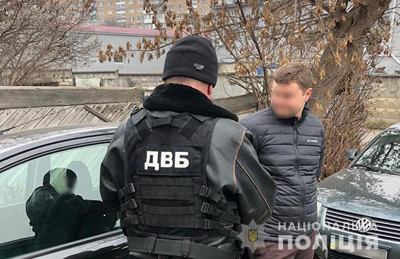 У Києві поліцейський попався на хабарі