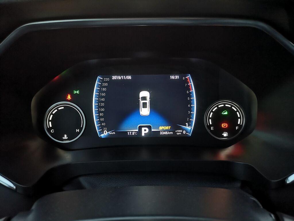 Chery Tiggo 8 получил цифровую 8-дюймовую приборную шкалу