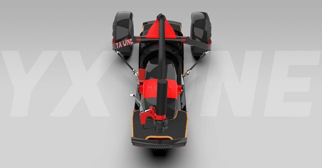 Електричний скутер-позашляховик YX One