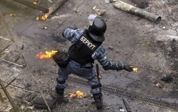 """""""Беркут"""" під час протестів"""