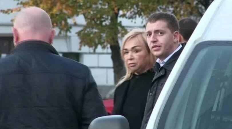 Прокурор Турчин на місці ДТП поруч із мамою Наталії Саєнко