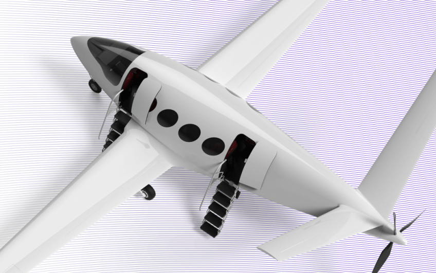Концепт електричного літака Alice