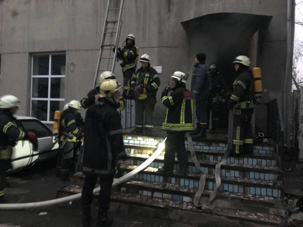 Пожежа в одеському училищі