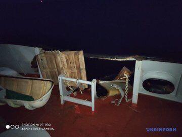 Разграбленные украинские корабли