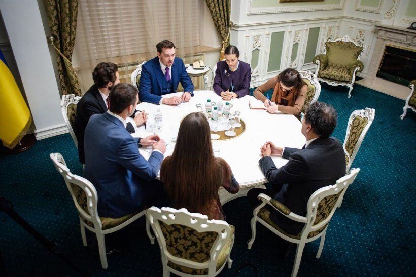 Олексій Гончарук на зустрічі з главою IRENA