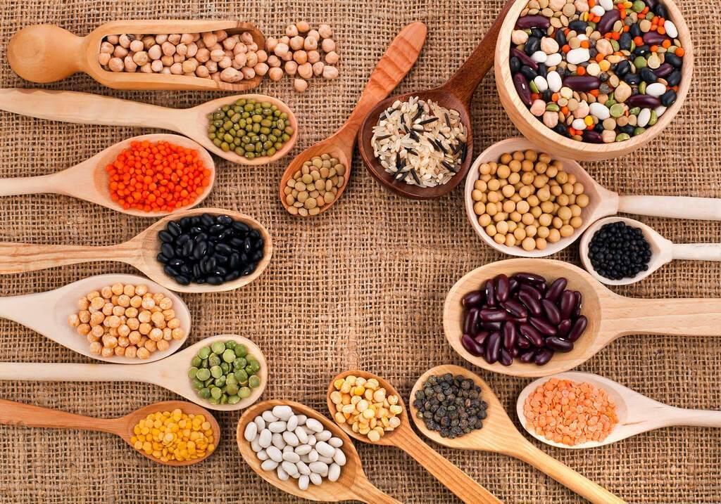 Бобові – горох, дав (індійський горох), нут, маш, соя, квасоля і сочевиця різних видів