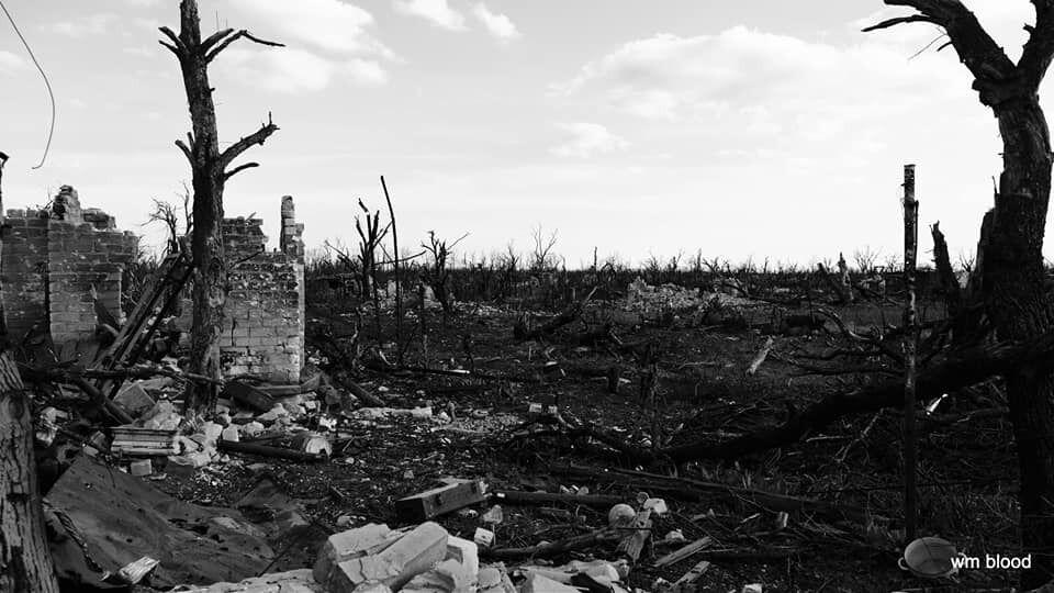 Руїни на Донбасі