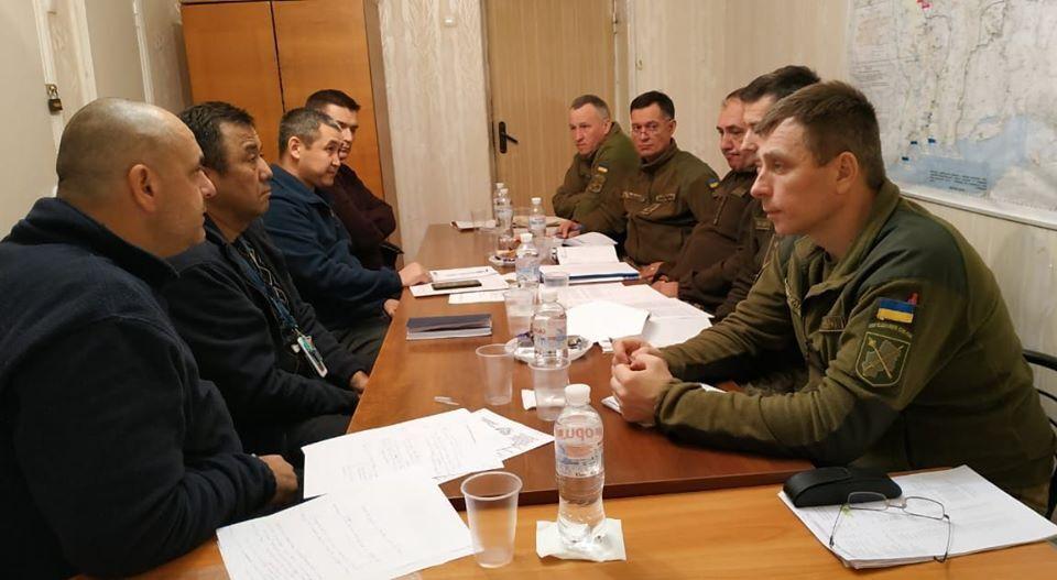 27 листопада в Донецькій області відбулася робоча зустріч представників СЦКК і ОБСЄ