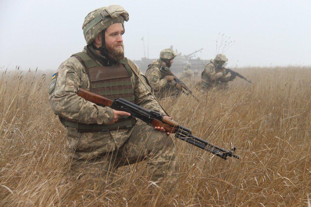 Учения ВСУ по противодесантной обороне побережья Азовского моря