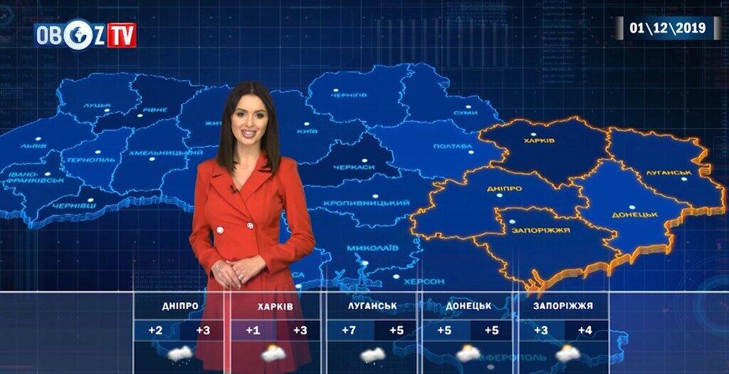 Морози повернуться: прогноз погоди на 1 грудня від ObozTV