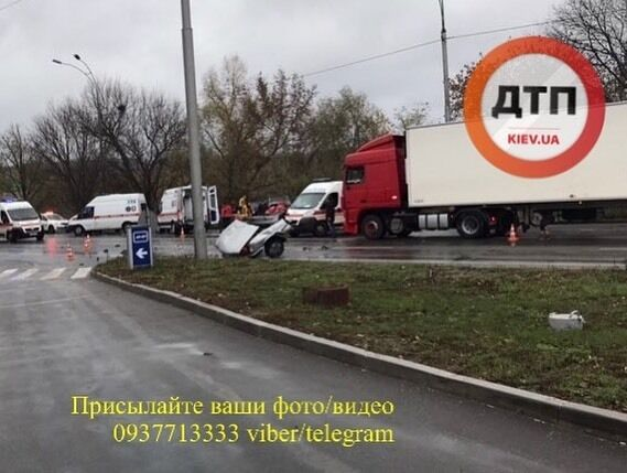 ДТП в Киеве - фото