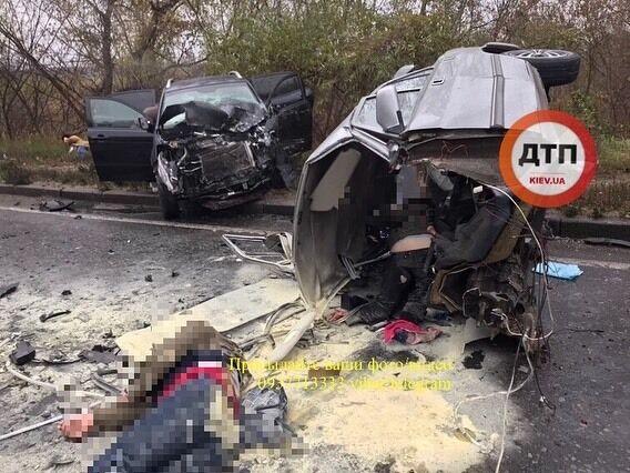 Серьезное ДТП в Киеве