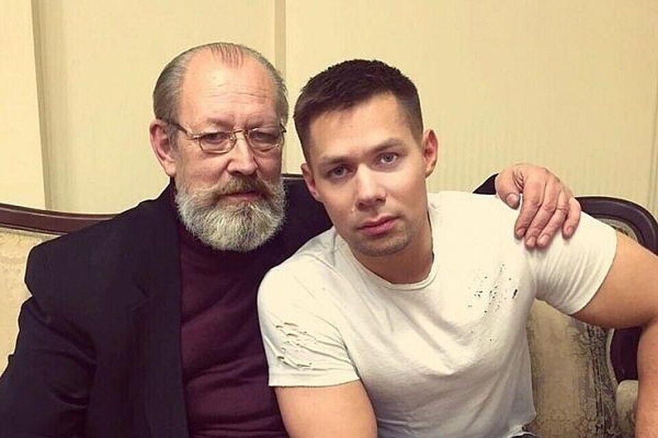 Стас П'єха з батьком